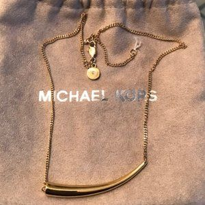 Michael Kors Gold-tone Sterling Silver Necklace